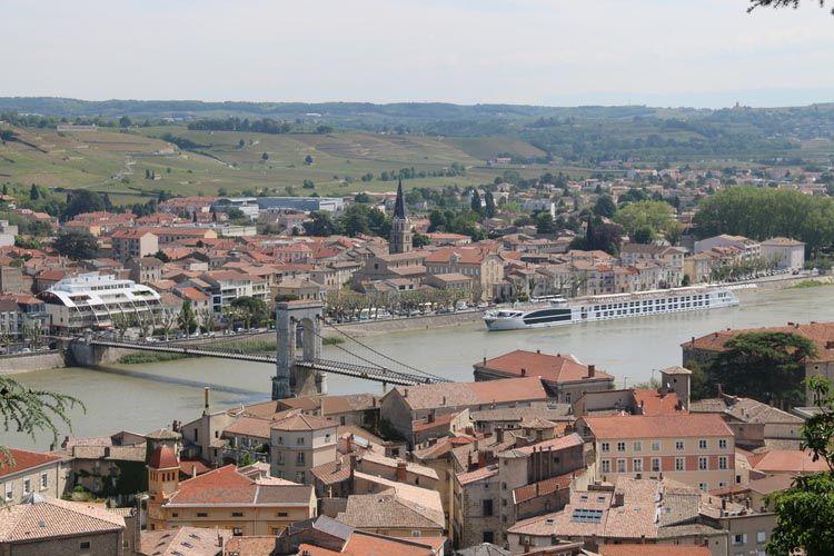 Tournon, France, Rhone River