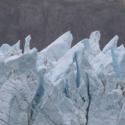 Glacier Bay Alaska Ice Formations