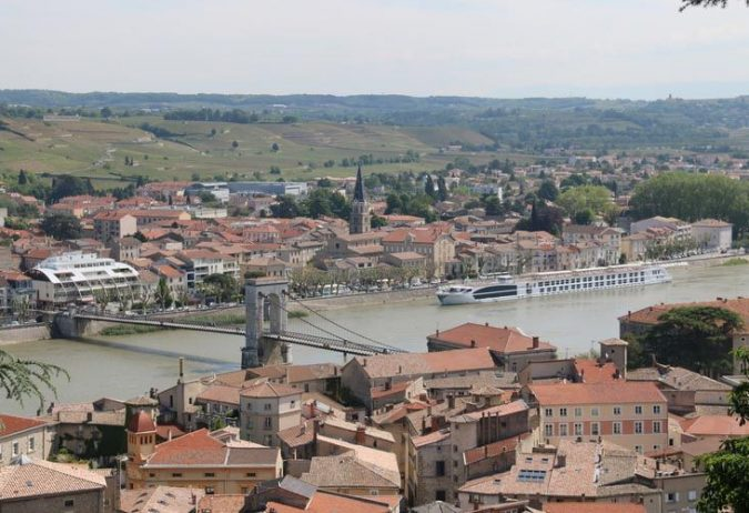 Tournon, France, Rhone River