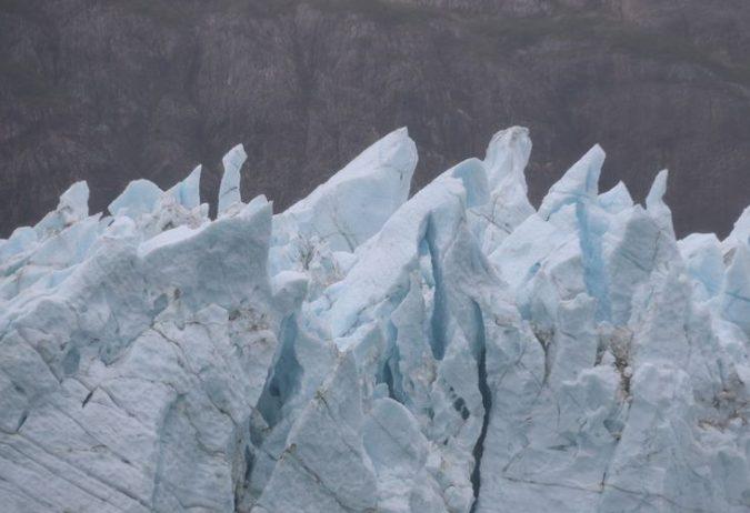 Glacier Bay Alaska Ice Formations