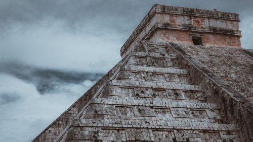 Caribbean & Mexico - Mexican pyramid