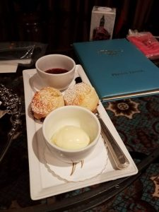 Scones delivered to your room