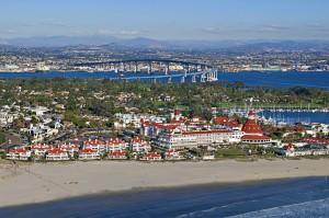 Hotel Del Coronado Arial View