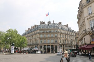 Hotel du Louvre - Built in 1855, one of the oldest hotels in the city of lights