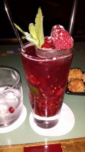 One of the freshest and most delicious drinks I have ever had - Dusan Jocic, assistant bar manager, made it specially for me
